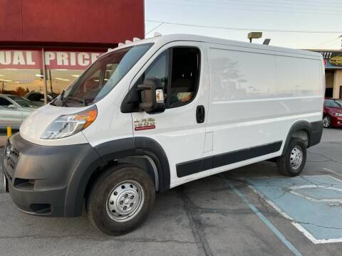 2017 RAM ProMaster Cargo for sale at Sanmiguel Motors in South Gate CA