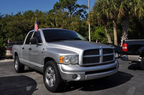 2004 Dodge Ram Pickup 1500 for sale at STEPANEK'S AUTO SALES & SERVICE INC. in Vero Beach FL