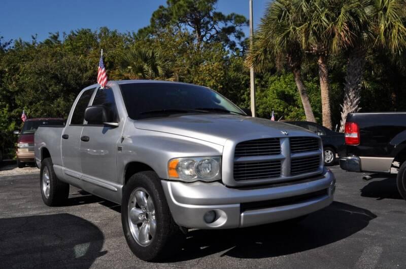 2004 Dodge Ram Pickup 1500 for sale at STEPANEK'S AUTO SALES & SERVICE INC. in Vero Beach FL