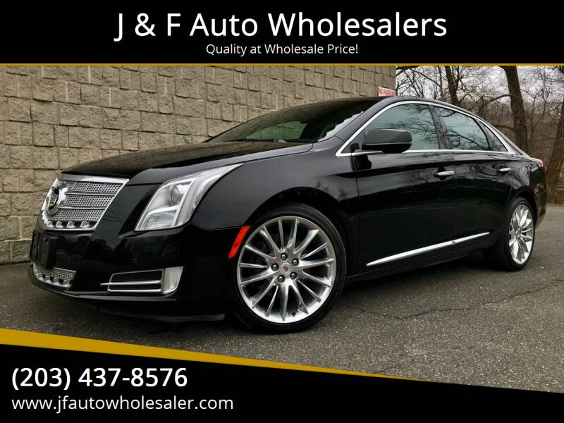 2013 Cadillac XTS for sale at J & F Auto Wholesalers in Waterbury CT