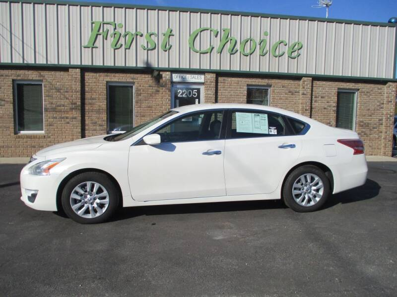 2013 Nissan Altima for sale at First Choice Auto in Greenville SC