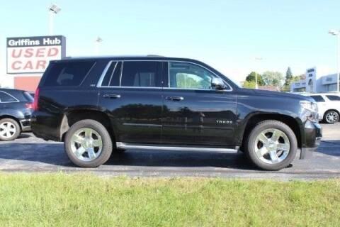 2015 Chevrolet Tahoe for sale at Cj king of car loans/JJ's Best Auto Sales in Troy MI