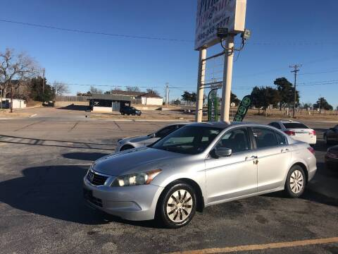 2008 Honda Accord for sale at Patriot Auto Sales in Lawton OK