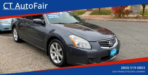 2007 Nissan Maxima for sale at CT AutoFair in West Hartford CT