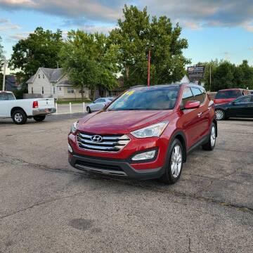 2014 Hyundai Santa Fe Sport for sale at Bibian Brothers Auto Sales & Service in Joliet IL