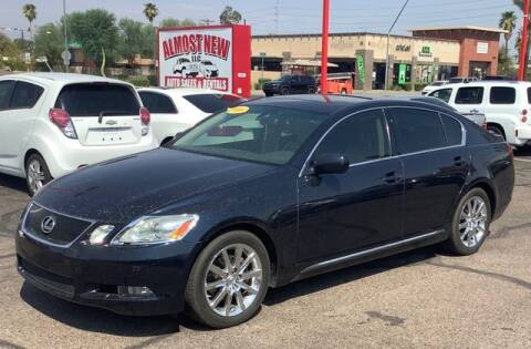 2006 Lexus GS 300 for sale at ALMOST NEW AUTO RENTALS & SALES in Mesa AZ