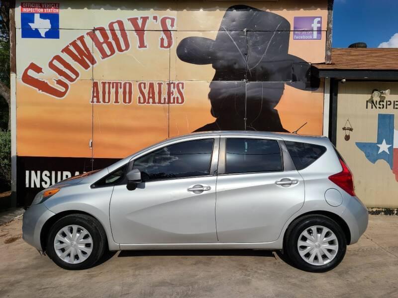 2015 Nissan Versa Note for sale at Cowboy's Auto Sales in San Antonio TX