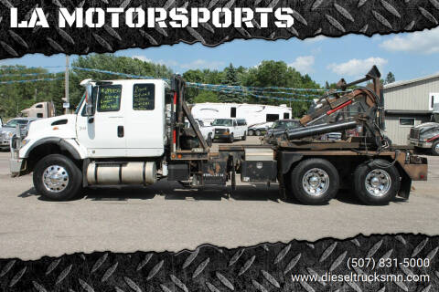 2004 International WorkStar 7600 for sale at LA MOTORSPORTS in Windom MN