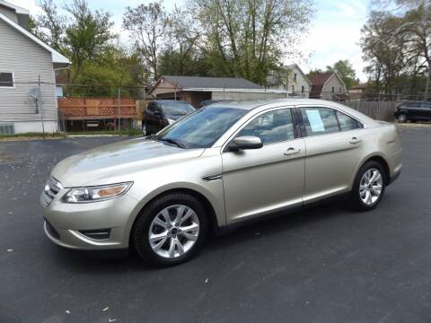 2011 Ford Taurus for sale at Goodman Auto Sales in Lima OH