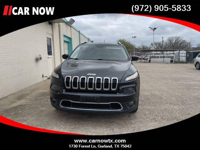2015 Jeep Cherokee for sale at Car Now Dallas in Dallas TX