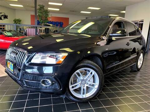 2014 Audi Q5 for sale at SAINT CHARLES MOTORCARS in Saint Charles IL
