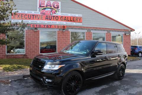 2015 Land Rover Range Rover Sport for sale at EXECUTIVE AUTO GALLERY INC in Walnutport PA