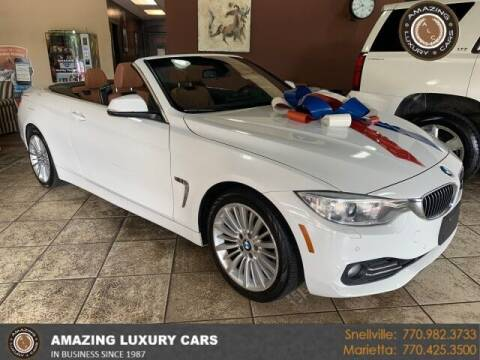 2015 BMW 4 Series for sale at Amazing Luxury Cars in Snellville GA