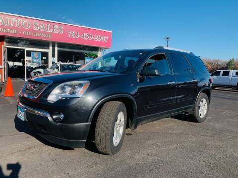 2012 GMC Acadia for sale at LUXURY IMPORTS AUTO SALES INC in North Branch MN