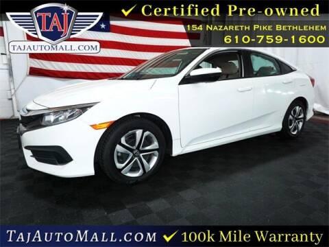 2017 Honda Civic for sale at Taj Auto Mall in Bethlehem PA