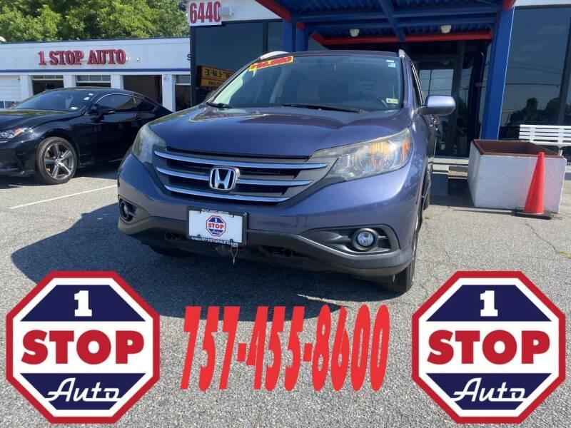 2014 Honda CR-V for sale at 1 Stop Auto in Norfolk VA