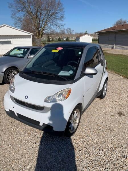 2009 Smart fortwo for sale at Jim Elsberry Auto Sales in Paris IL
