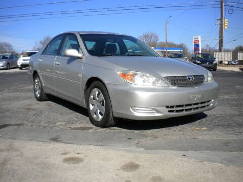 2002 Toyota Camry for sale at CASABLANCA AUTO SALES in Greensboro NC