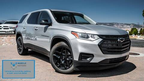 2021 Chevrolet Traverse for sale at MUSCLE MOTORS AUTO SALES INC in Reno NV