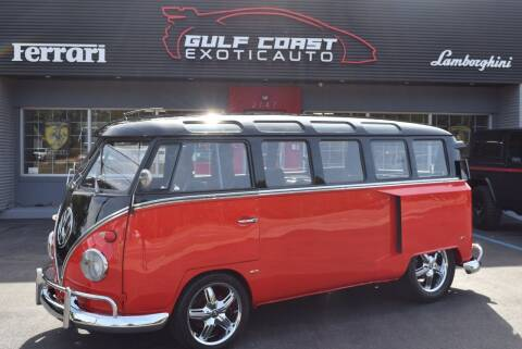 1966 Volkswagen 21 Window for sale at Gulf Coast Exotic Auto in Biloxi MS