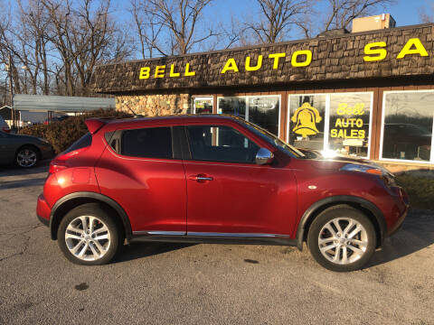 2012 Nissan JUKE for sale at BELL AUTO & TRUCK SALES in Fort Wayne IN