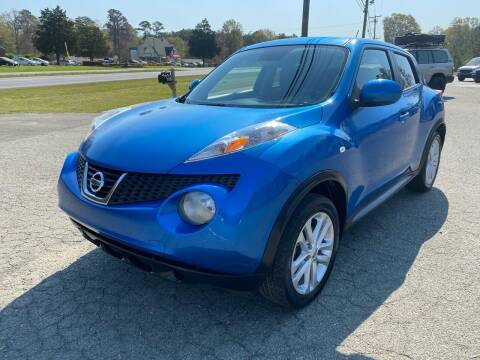 2011 Nissan JUKE for sale at CVC AUTO SALES in Durham NC