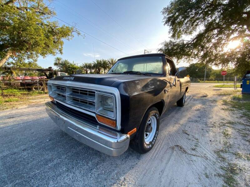 1986 Dodge RAM 150 for sale at OVE Car Trader Corp in Tampa FL