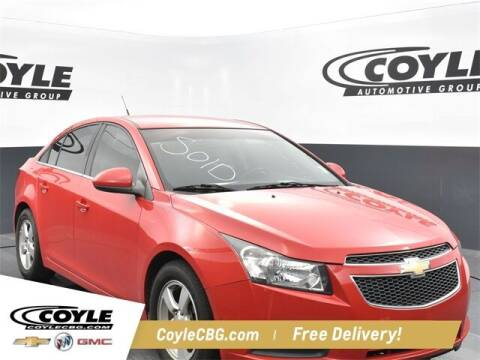 2014 Chevrolet Cruze for sale at COYLE GM - COYLE NISSAN - New Inventory in Clarksville IN