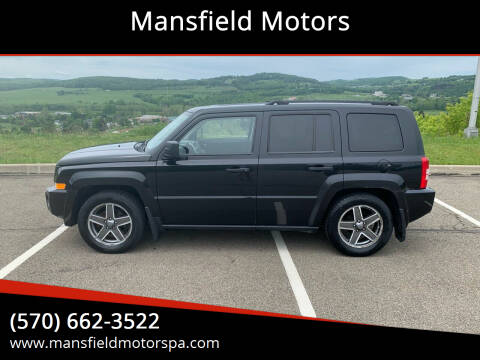 2008 Jeep Patriot for sale at Mansfield Motors in Mansfield PA