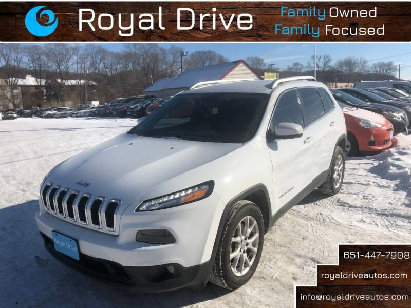 2016 Jeep Cherokee for sale at Royal Drive in Newport MN