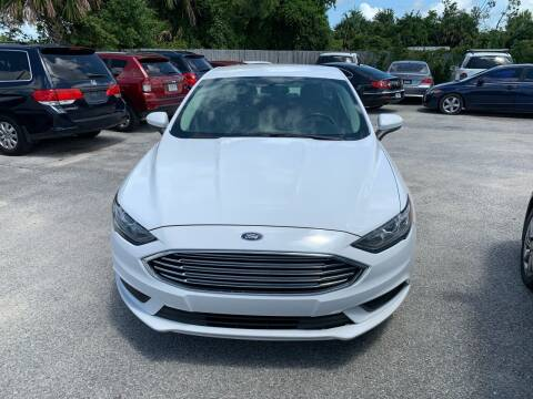 2017 Ford Fusion for sale at Jamrock Auto Sales of Panama City in Panama City FL