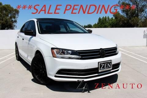 2017 Volkswagen Jetta for sale at Zen Auto Sales in Sacramento CA