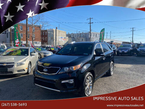 2011 Kia Sorento for sale at Impressive Auto Sales in Philadelphia PA