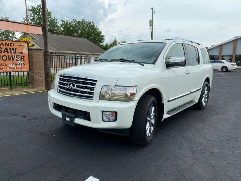 2010 Infiniti QX56 for sale at Royal Auto Inc. in Columbus OH