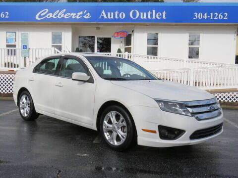 2012 Ford Fusion for sale at Colbert's Auto Outlet in Hickory NC