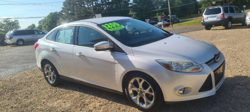 2012 Ford Focus for sale at Five Star Motors in Senatobia MS