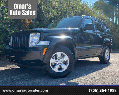 2010 Jeep Liberty for sale at Omar's Auto Sales in Martinez GA