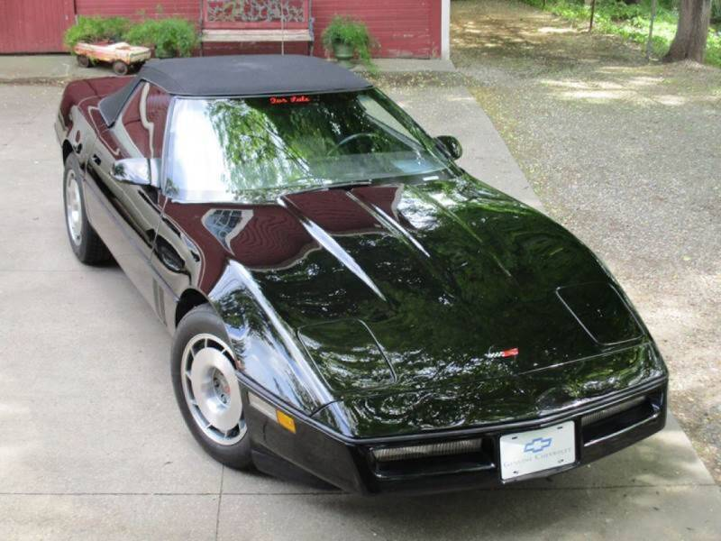 1987 Chevrolet Corvette for sale at Longs Automobile Emporium Inc in Atwater OH