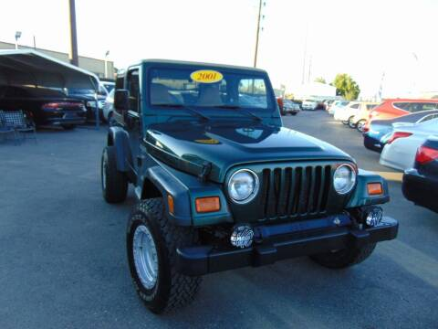 2001 Jeep Wrangler for sale at Avalanche Auto Sales in Denver CO
