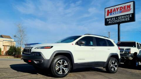 2015 Jeep Cherokee for sale at Hayden Cars in Coeur D Alene ID