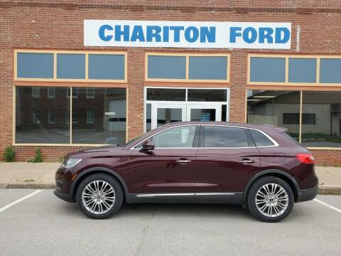 2018 Lincoln MKX for sale at Chariton Ford in Chariton IA