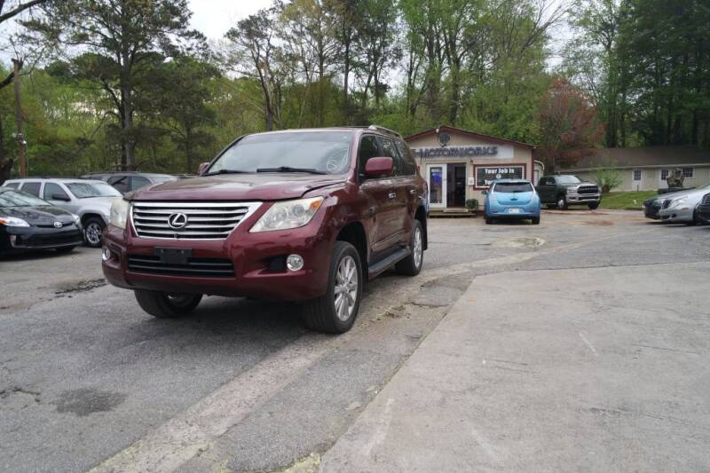 2009 Lexus LX 570 for sale at E-Motorworks in Roswell GA