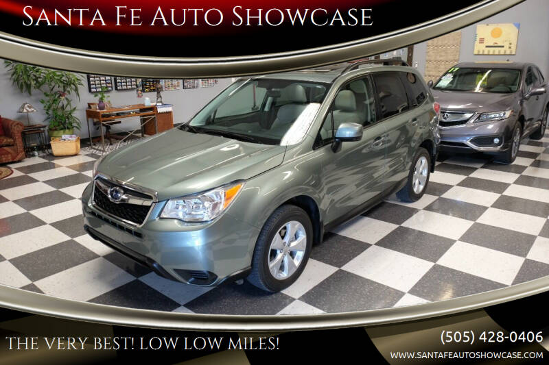 2015 Subaru Forester for sale at Santa Fe Auto Showcase in Santa Fe NM