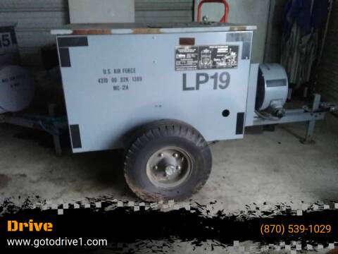 1900 INGERSOLL RAND AIR COMPRESSOR for sale at Drive in Leachville AR