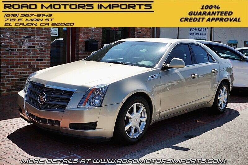 2008 Cadillac CTS for sale at Road Motors Imports in El Cajon CA