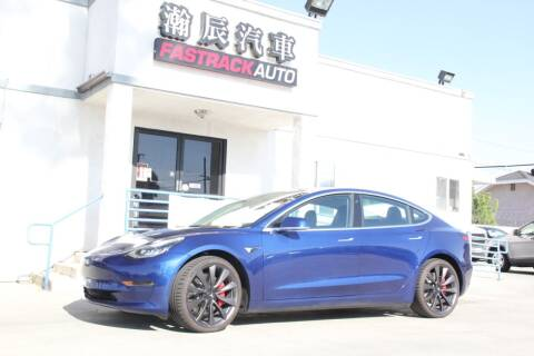 2020 Tesla Model 3 for sale at Fastrack Auto Inc in Rosemead CA