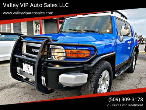 2007 Toyota FJ Cruiser for sale at Valley VIP Auto Sales LLC in Spokane Valley WA
