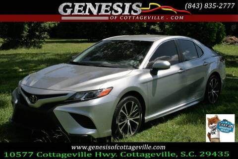 2018 Toyota Camry for sale at Genesis Of Cottageville in Cottageville SC