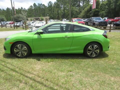 2017 Honda Civic for sale at Ward's Motorsports in Pensacola FL
