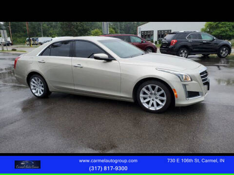 2015 Cadillac CTS for sale at Carmel Auto Group in Indianapolis IN